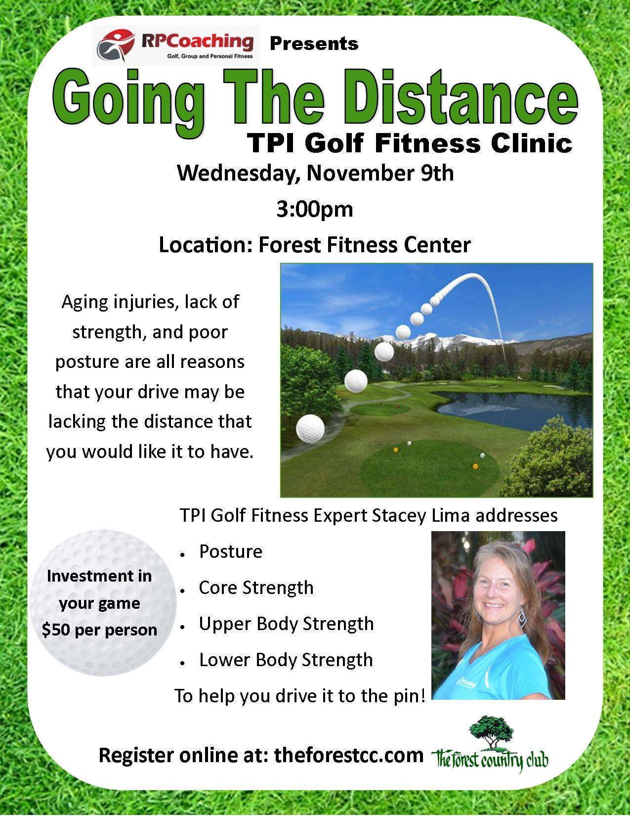 TPI Clinic: Going the Distance (The Forest) – Rita Pociask