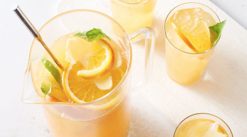 Pineapple Ginger Sparkler Drink Recipe