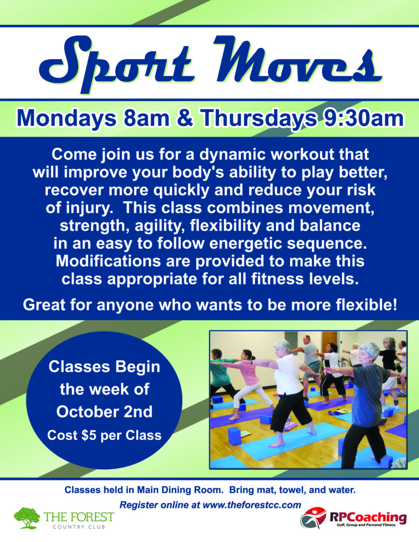 Sport Moves Fitness Class